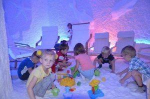соляная пещера для детей