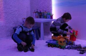 ппосещение соляной пещеры для детей