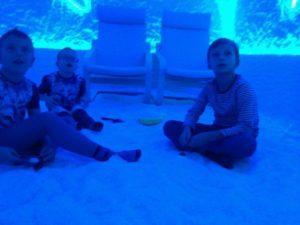 посещение соляной пещеры для детей